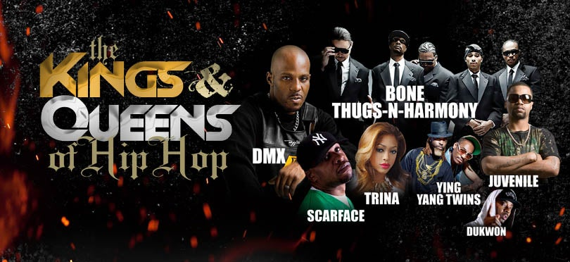 69 Boyz Join DMX Bone Thugs N Harmony And More On Stage September 4