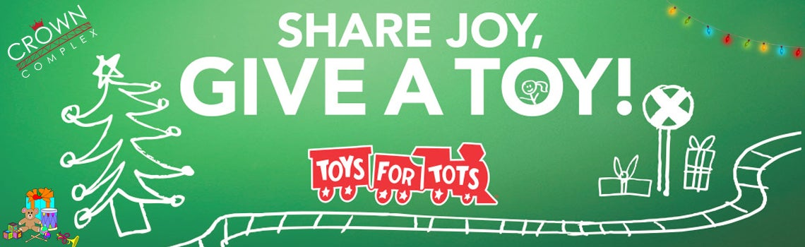 Toys For Tots Banners : Crown complex